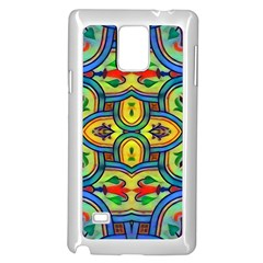 L ooera In Lyrical Abstraction Samsung Galaxy Note 4 Case (white)