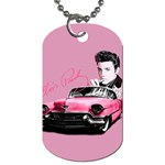 Elvis Presley s Pink Cadillac Dog Tag (One Side) Front