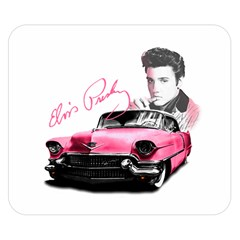 Elvis Presley s Pink Cadillac Double Sided Flano Blanket (small)