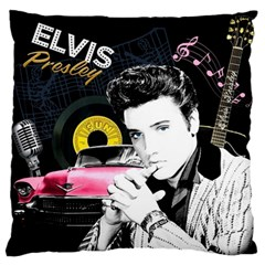 Elvis Presley Collage Standard Flano Cushion Case (one Side)