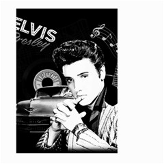 Elvis Presley Collage Large Garden Flag (two Sides)