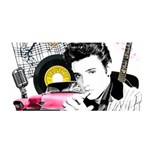 Elvis Presley collage Satin Wrap Front
