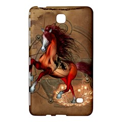 Awesome Horse  With Skull In Red Colors Samsung Galaxy Tab 4 (8 ) Hardshell Case