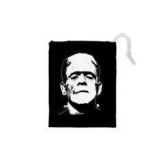 Frankenstein s Monster Halloween Drawstring Pouches (xs)