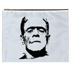 Frankenstein s Monster Halloween Cosmetic Bag (xxxl)