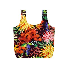 Autumn Flowers Pattern 2 Full Print Recycle Bags (s)