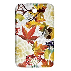 Autumn Flowers Pattern 3 Samsung Galaxy Tab 3 (7 ) P3200 Hardshell Case