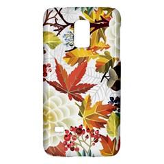 Autumn Flowers Pattern 3 Galaxy S5 Mini