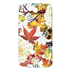 Autumn Flowers Pattern 3 Samsung Galaxy Mega I9200 Hardshell Back Case
