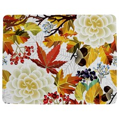 Autumn Flowers Pattern 3 Jigsaw Puzzle Photo Stand (rectangular)