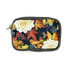 Autumn Flowers Pattern 4 Coin Purse
