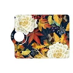 Autumn Flowers Pattern 4 Kindle Fire Hd (2013) Flip 360 Case