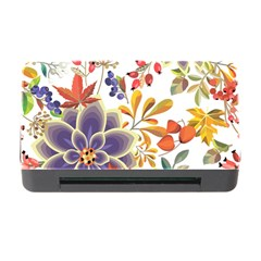 Autumn Flowers Pattern 5 Memory Card Reader With Cf