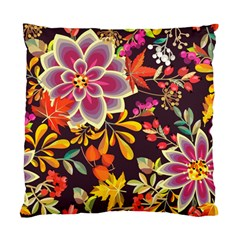 Autumn Flowers Pattern 6 Standard Cushion Case (two Sides)