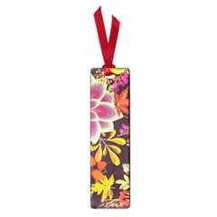 Autumn Flowers Pattern 6 Small Book Marks