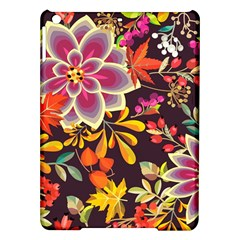 Autumn Flowers Pattern 6 Ipad Air Hardshell Cases