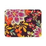 Autumn Flowers Pattern 6 Double Sided Flano Blanket (Mini)  35 x27 Blanket Back