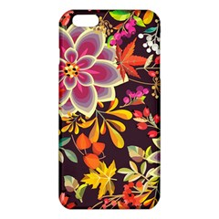Autumn Flowers Pattern 6 Iphone 6 Plus/6s Plus Tpu Case