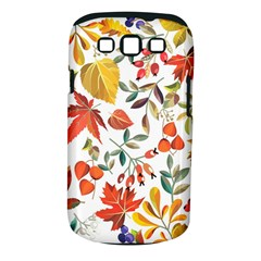Autumn Flowers Pattern 7 Samsung Galaxy S Iii Classic Hardshell Case (pc+silicone)