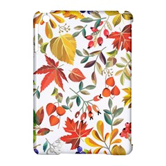 Autumn Flowers Pattern 7 Apple Ipad Mini Hardshell Case (compatible With Smart Cover)