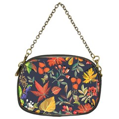 Autumn Flowers Pattern 8 Chain Purses (two Sides)
