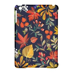 Autumn Flowers Pattern 8 Apple Ipad Mini Hardshell Case (compatible With Smart Cover)