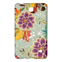 Autumn Flowers Pattern 9 Samsung Galaxy Tab 4 (8 ) Hardshell Case