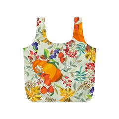 Autumn Flowers Pattern 11 Full Print Recycle Bags (s)
