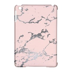 Luxurious Pink Marble 1 Apple Ipad Mini Hardshell Case (compatible With Smart Cover)