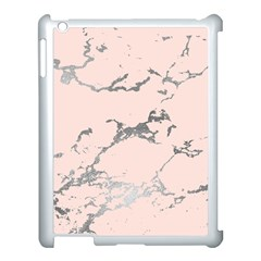 Luxurious Pink Marble 1 Apple Ipad 3/4 Case (white)