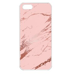 Luxurious Pink Marble 3 Apple Iphone 5 Seamless Case (white)
