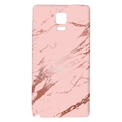 Luxurious Pink Marble 3 Galaxy Note 4 Back Case