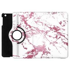Luxurious Pink Marble 4 Apple Ipad Mini Flip 360 Case