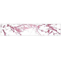 Luxurious Pink Marble 4 Large Velour Scarf