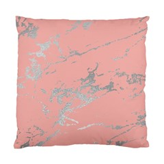 Luxurious Pink Marble 6 Standard Cushion Case (two Sides)