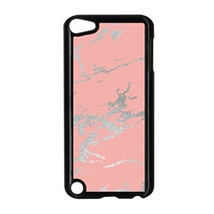Luxurious Pink Marble 6 Apple Ipod Touch 5 Case (black)