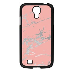 Luxurious Pink Marble 6 Samsung Galaxy S4 I9500/ I9505 Case (black)