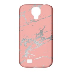 Luxurious Pink Marble 6 Samsung Galaxy S4 Classic Hardshell Case (pc+silicone)