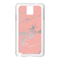 Luxurious Pink Marble 6 Samsung Galaxy Note 3 N9005 Case (white)