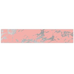 Luxurious Pink Marble 6 Large Velour Scarf