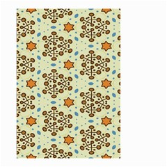 Stars And Other Shapes Pattern                               Small Garden Flag