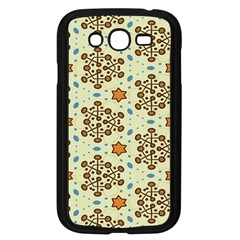 Stars And Other Shapes Pattern                         Samsung Galaxy S4 I9500/ I9505 Case (black)