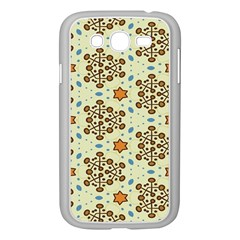 Stars And Other Shapes Pattern                         Samsung Galaxy S4 I9500/ I9505 Case (white)