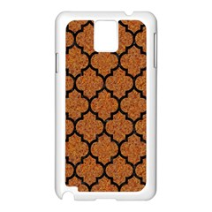 Tile1 Black Marble & Rusted Metal Samsung Galaxy Note 3 N9005 Case (white)
