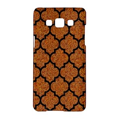 Tile1 Black Marble & Rusted Metal Samsung Galaxy A5 Hardshell Case