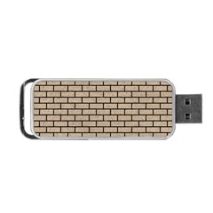 Brick1 Black Marble & Sand Portable Usb Flash (two Sides)