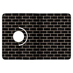 Brick1 Black Marble & Sand (r) Kindle Fire Hdx Flip 360 Case