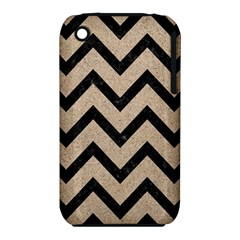 Chevron9 Black Marble & Sand Iphone 3s/3gs