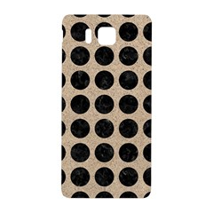 Circles1 Black Marble & Sand Samsung Galaxy Alpha Hardshell Back Case
