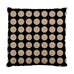 Circles1 Black Marble & Sand (r) Standard Cushion Case (two Sides)